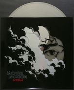 Michael Jackson, Scream [Glow In The Dark/Translucent Blue with Luminous Splatter Vinyl] (LP)