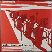 Miles Davis, Miles Davis and Horns (LP)