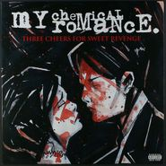 My Chemical Romance, Three Cheers For Sweet Revenge [Clear with Red Splatter Vinyl] (LP)