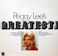 Peggy Lee, Peggy Lee's Greatest! (LP)