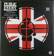 Public Enemy, Live From Metropolis Studios [Limited Edition European Clear Vinyl Box Set] (LP)