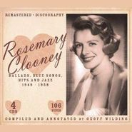 Rosemary Clooney, Ballads, Blue Songs, Hits And Jazz 1949-1958 [4CDs] (CD)