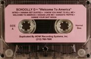 Schoolly D, Welcome To America [Promo] (Cassette)