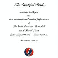 Grateful Dead, One From The Vault [Remastered] (LP)
