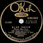 Louis Armstrong, Blue Again / When Your Lover Has Gone