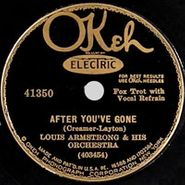 Louis Armstrong, After You've Gone / St. Louis Blues
