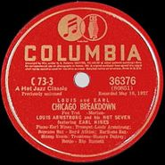 Louis Armstrong, Chicago Breakdown / Don't Jive Me