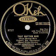 Louis Armstrong, That Rhythm Man / Sweet Savannah Sue