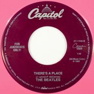 """The Beatles, Twist And Shout / There's A Place [Pink Vinyl] (7"""")"""