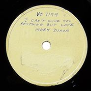 Mary Dixon, I Can't Give You Anything But Love / Dusky Stevedore