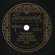 Don Redman, Nagasaki / Doin' What I Please
