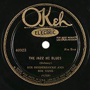 Bix Beiderbecke & His Gang, The Jazz Me Blues / At The Jazz Band Ball