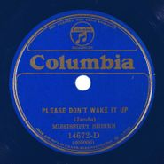 The Mississippi Sheiks, Please Don't Wake It Up / Kind Treatment