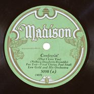 Lew Gold & His Orchestra, Confessin' (That I Love You) / Horse Feathers