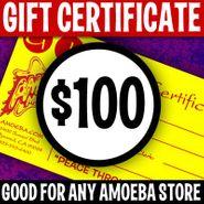 Amoeba Music Gift Certificates, $100 Gift Certificate