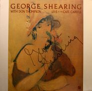 George Shearing, Live At The Cafe Carlyle [Autographed] (LP)