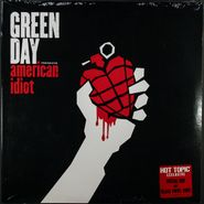Green Day, American Idiot [Red And Black Swirl Vinyl] (LP)