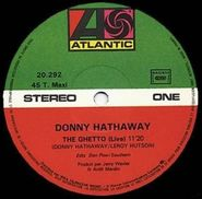 """Donny Hathaway, Ghetto (12"""")"""
