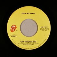 """Keith Richards, Run Rudolph Run / The Harder They Come (7"""")"""