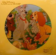 Various Artists, Walt Disney's Lady And The Tramp [Picture Disc] (LP)