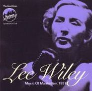 Lee Wiley, Music Of Manhattan 1951 (CD)