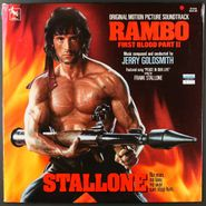 Jerry Goldsmith, Rambo First Blood Part II [Score] (LP)