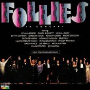 Stephen Sondheim, Follies In Concert: Music From The Original Soundtrack [Concert Cast/New York Philharmonic] (CD)