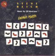 Ensemble Modern, Steve Reich: Music For 18 Musicians (CD)