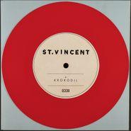 """St. Vincent, Krokodil [Red Vinyl] (7"""")"""