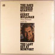 The Dave Brubeck Quartet, The Last Set At Newport (LP)