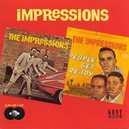 The Impressions, Keep On Pushing / People Get Ready (CD)
