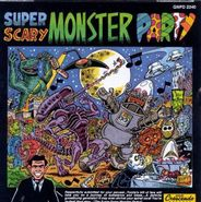 Various Artists, Super Scary Monster Party (CD)
