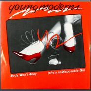 """Young Moderns, Body Won't Obey / She's A Disposable Girl (7"""")"""