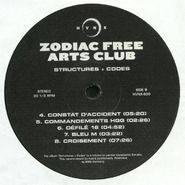 "Zodiac Free Arts Club, Structures + Codes (12"")"