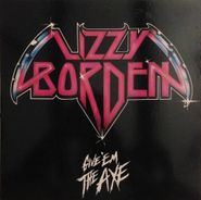 Lizzy Borden, Give 'em The Axe [Blue & White Vinyl] (LP)