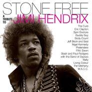 Various Artists, Stone Free: A Tribute To Jimi Hendrix [Black & Clear Vinyl] (LP)