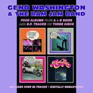 Geno Washington & The Ram Jam Band, Hand Clappin' Foot Stompin' Funky-Butt...Live! / Shake A Tail Feather, Baby! / Hipsters, Flipsters, Finger-Poppin' Daddies! / Running Wild (CD)