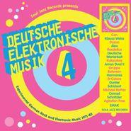 Various Artists, Deutsche Elektronische Musik Vol. 4: Experimental German Rock & Electronic Music 1971-83 (CD)