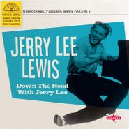 """Jerry Lee Lewis, Down The Road With Jerry Lee [Cyan Blue Vinyl] (10"""")"""