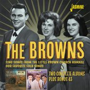 The Browns, Sing Songs From The Little Brown Church Hymnal / Our Favorite Folk Songs (CD)