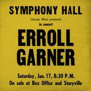 Erroll Garner, Symphony Hall Concert (CD)