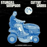 Sturgill Simpson, Cuttin' Grass - Vol. 2 (The Cowboy Arms Sessions) [Blue w/White Swirl Vinyl] (LP)