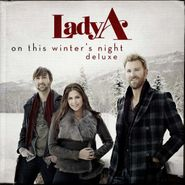 Lady A, On This Winter's Night [Red Vinyl] (LP)