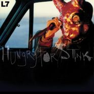 L7, Hungry For Stink [Red & Yellow 'Sunspot' Swirl Vinyl] (LP)