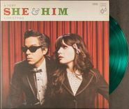She & Him, A Very She & Him Christmas [2017 Green Vinyl] (LP)