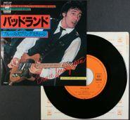 "Bruce Springsteen, Badlands / Streets Of Fire [Japanese] (7"")"