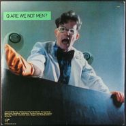 Devo, Q: Are We Not Men? A: We Are Devo! [1978 UK Pressing w/Poster] (LP)