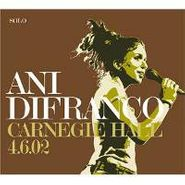 Ani DiFranco, Carnegie Hall 4.6.02 (CD)