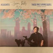 """The Associates, Those First Impressions / Thirteen Feelings [Signed] (12"""")"""