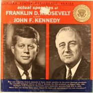 Franklin D. Roosevelt, Actual Speeches: United States Presidents' Series (LP)